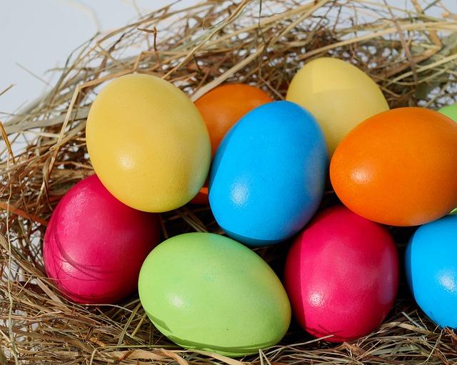 vajíčka v hnízdečku